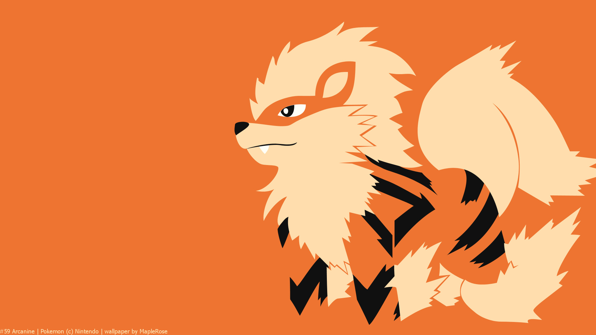 Must see Wallpaper Horse Minimalist - 59arcanine1920x1080  Collection_604444.jpg