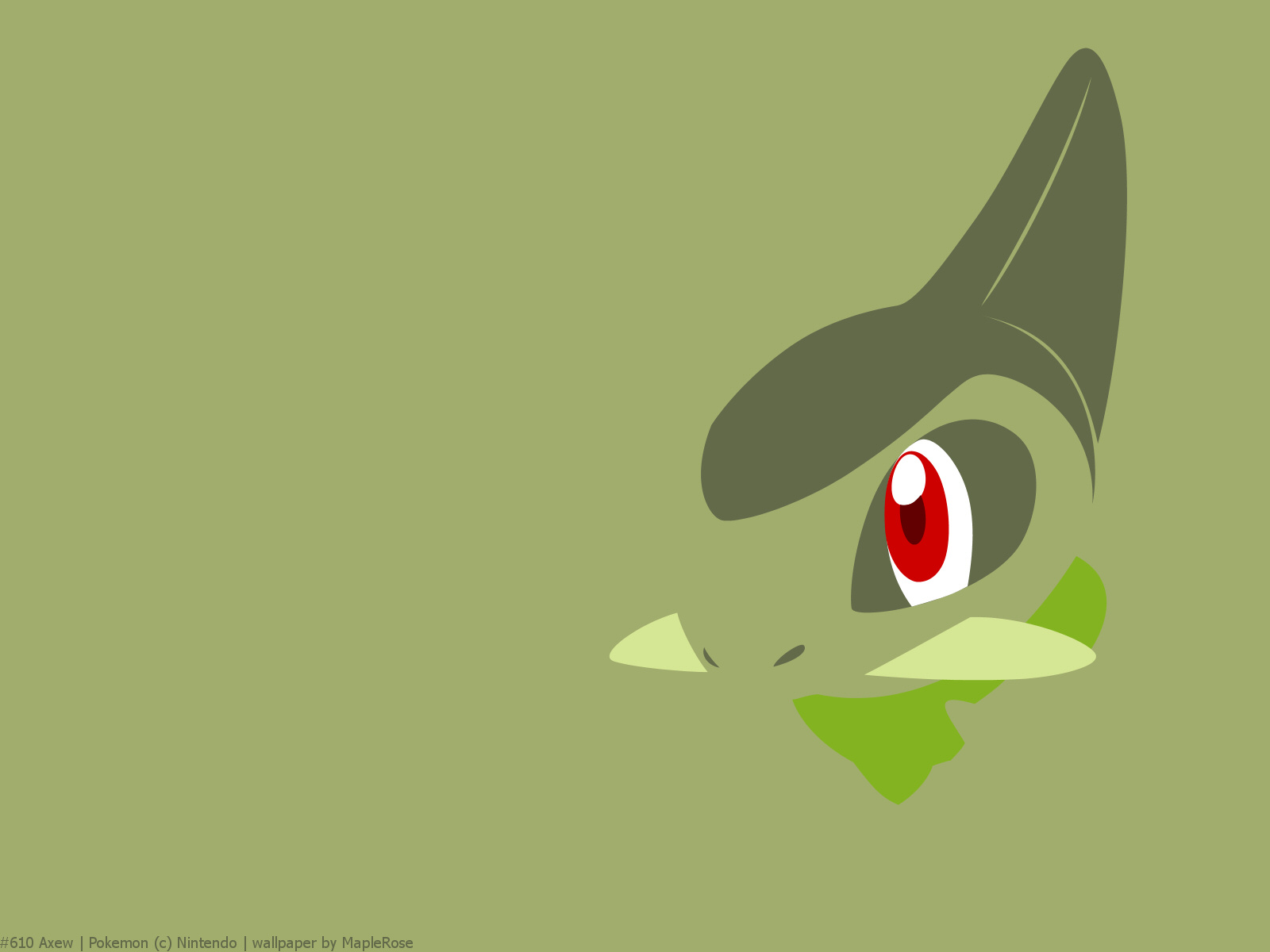 Axew pokemon wallpaper