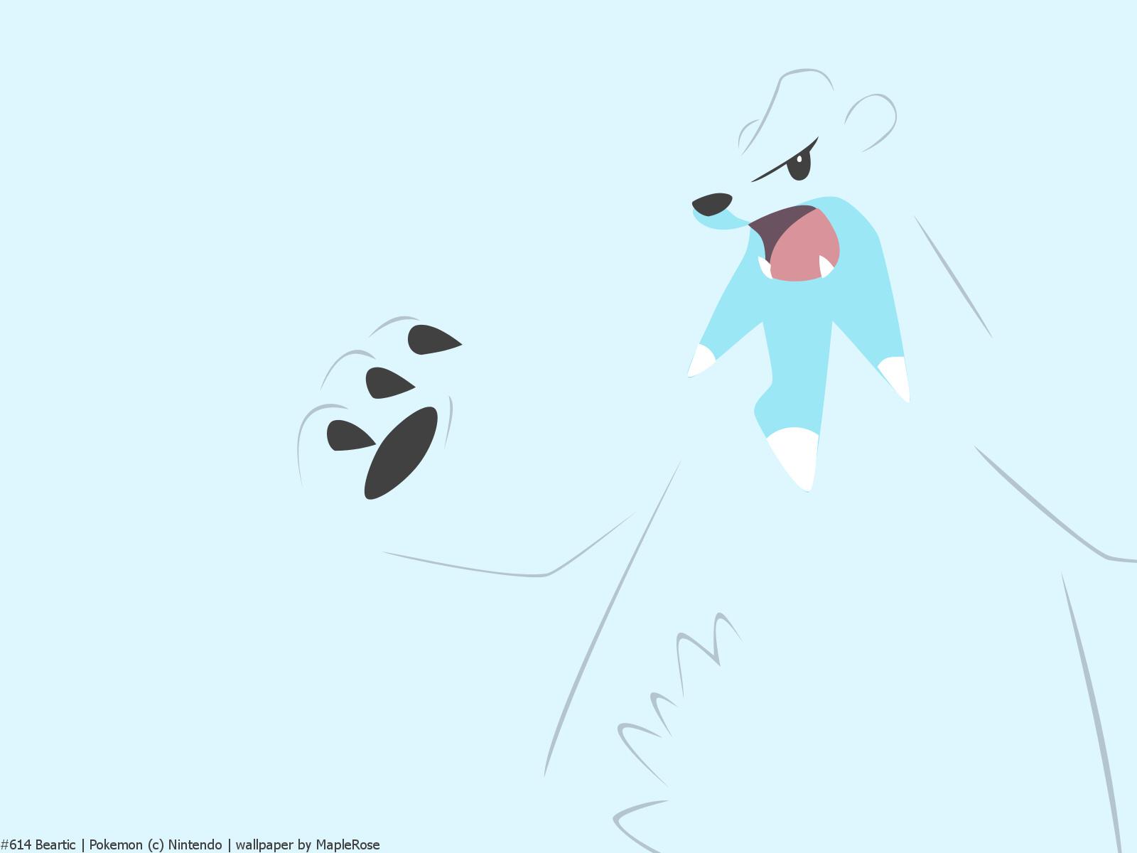 #614 Beartic | PokéWalls