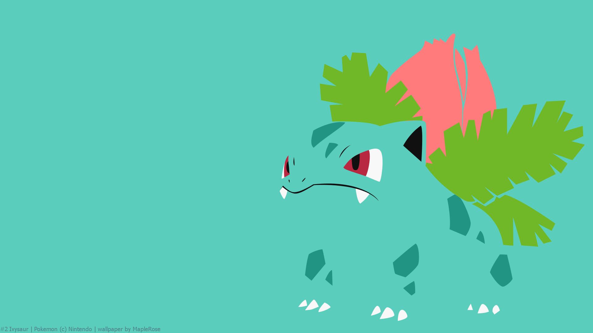 #2 Ivysaur | PokéWalls Pokemon Wallpaper Ivysaur